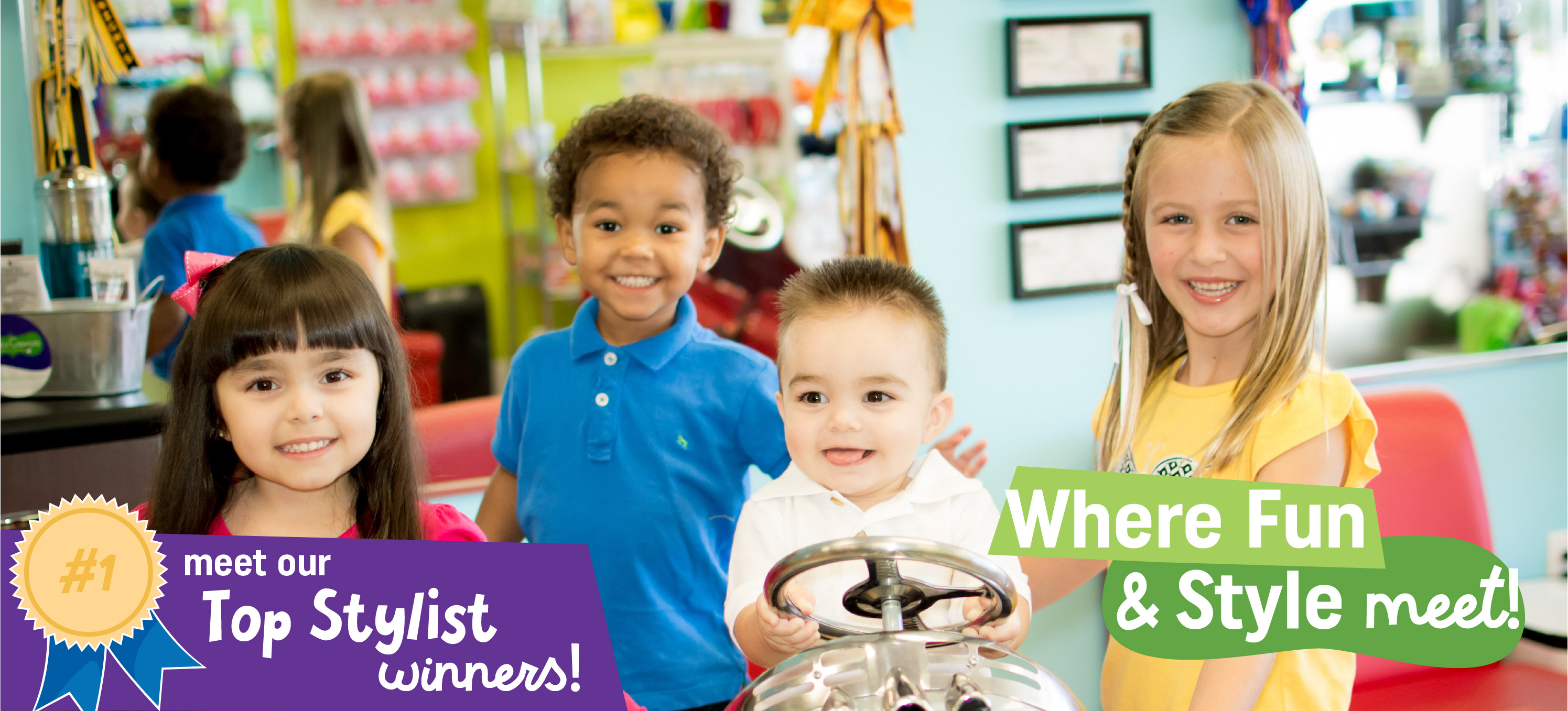 Pigtails & Crewcuts Haircuts for Kids