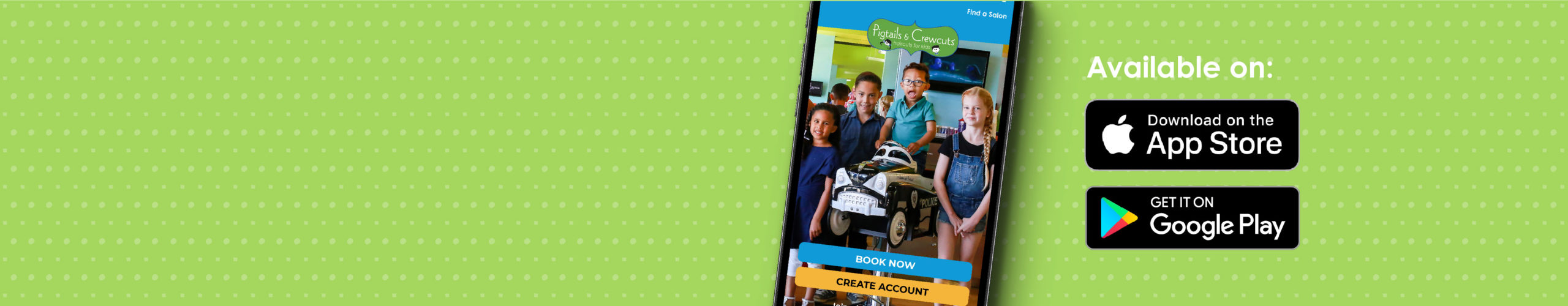 Pigtails & Crewcuts App Feature Image