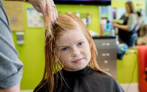 Girl with Damn Hair